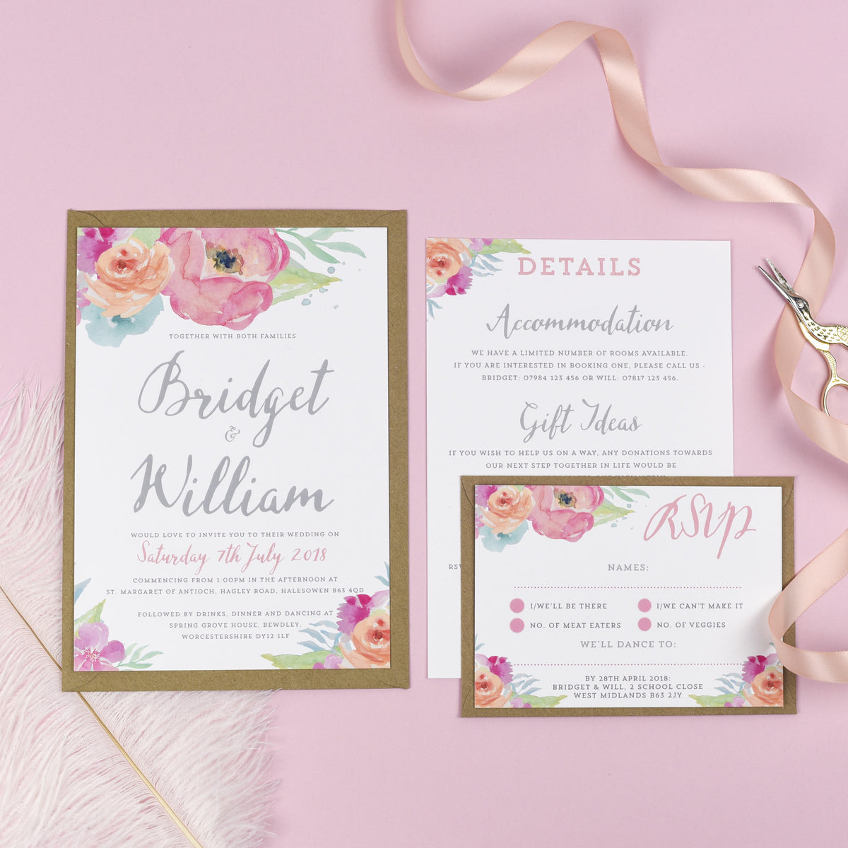 Our Wedding Stationery