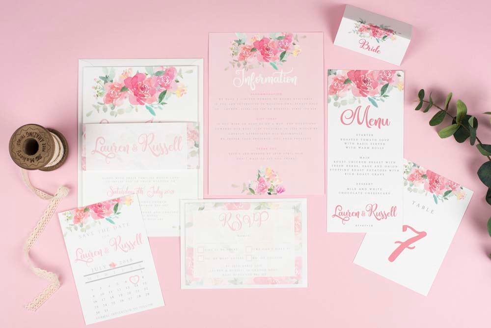 Blossom - Floral Wedding Collection