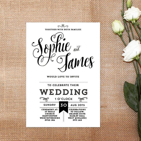 Wedding Stationery Halesowen West Midlands EivisSa Kind Designs