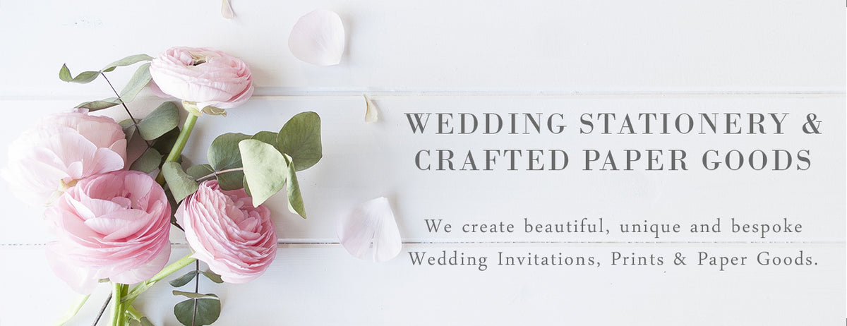 Wedding Invitations UK - West Midlands - Wedding Stationery & Crafted Paper Goods