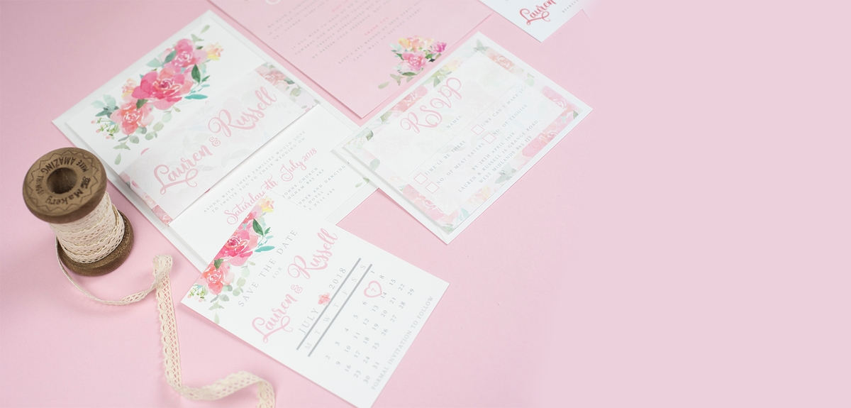 Wedding Stationery & Paper Goods