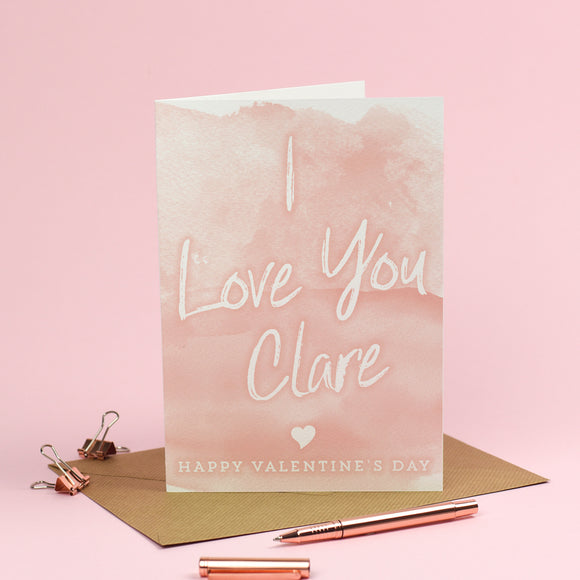 I Bloody Love you... *Rude Option* Valentine's Day Card