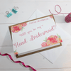 Will you be my Head Bridesmaid? Card 'Christine'