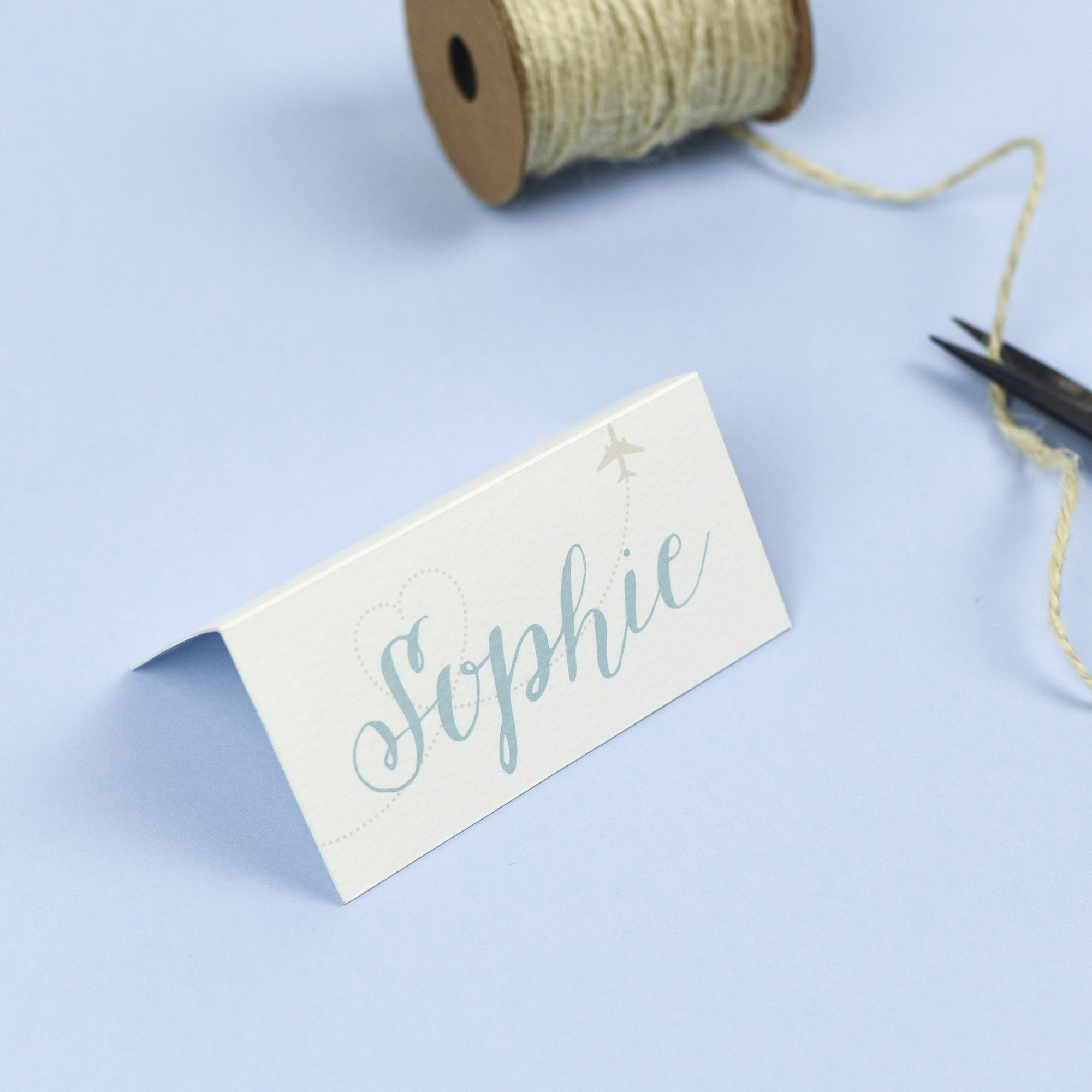 Place Card - Athena - Destination Wedding