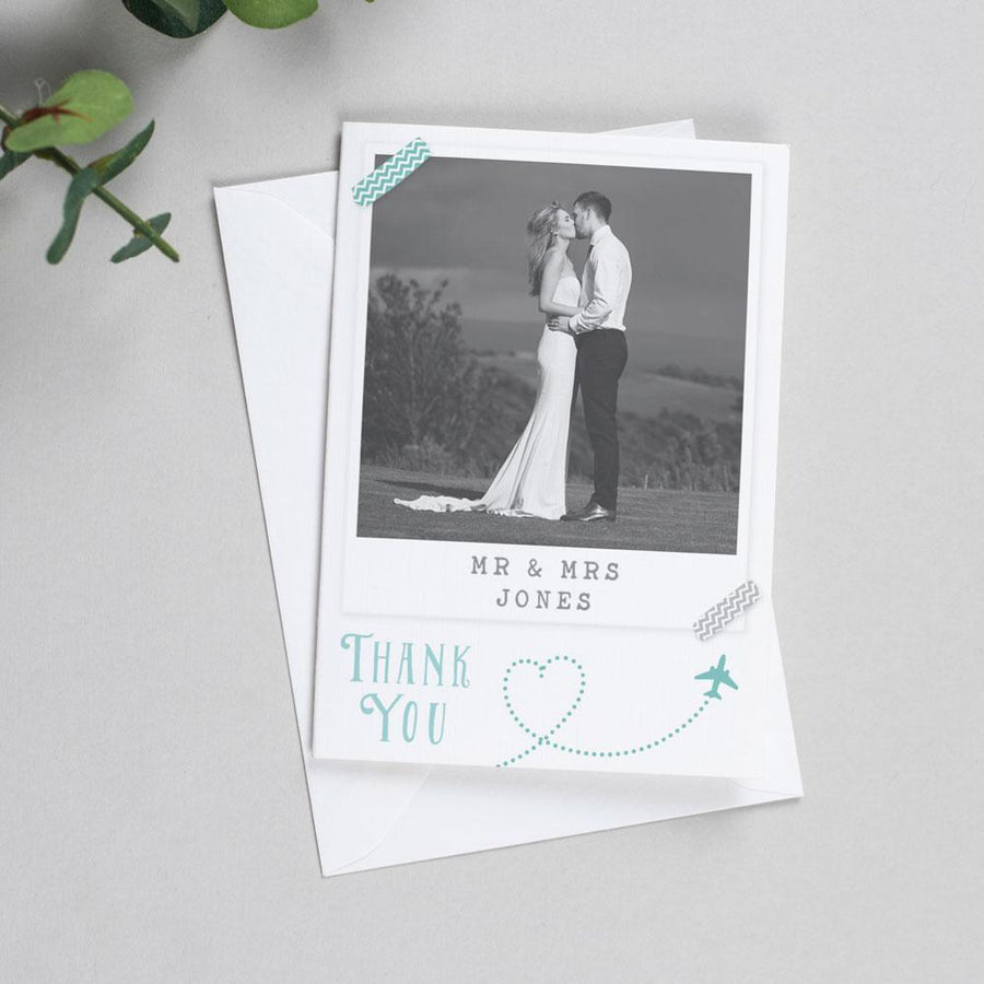 Photo Thank You Cards - Athena - Destination Wedding