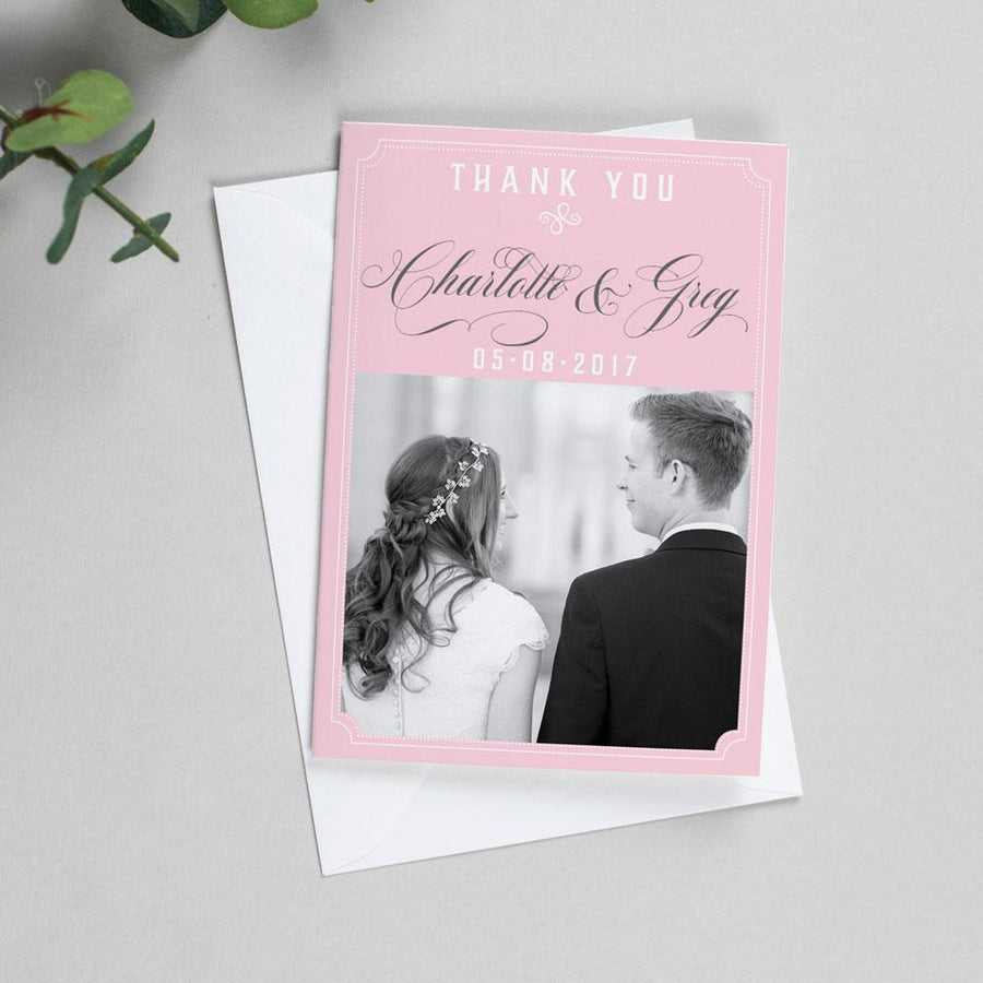 Photo Thank You Cards - Erin - Delicate Frame