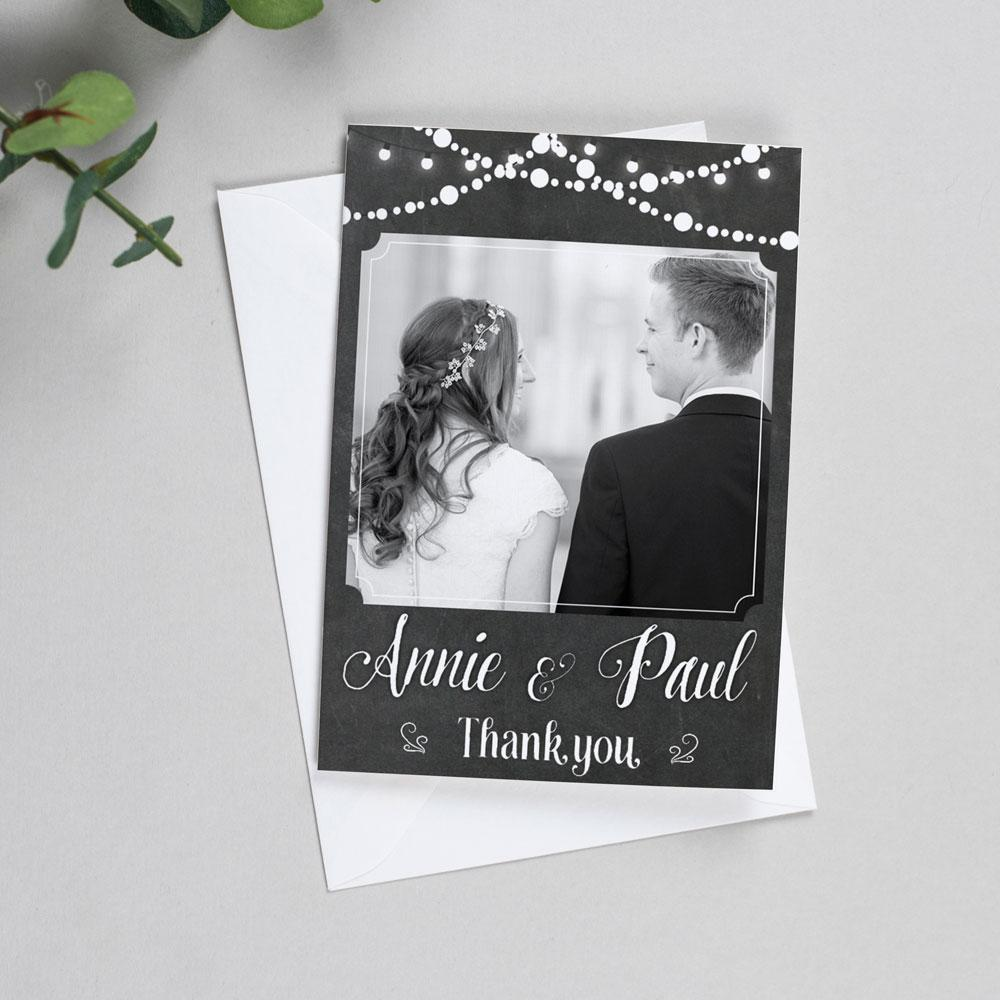 Photo Thank You Cards - Lizzie - Fairy Lights