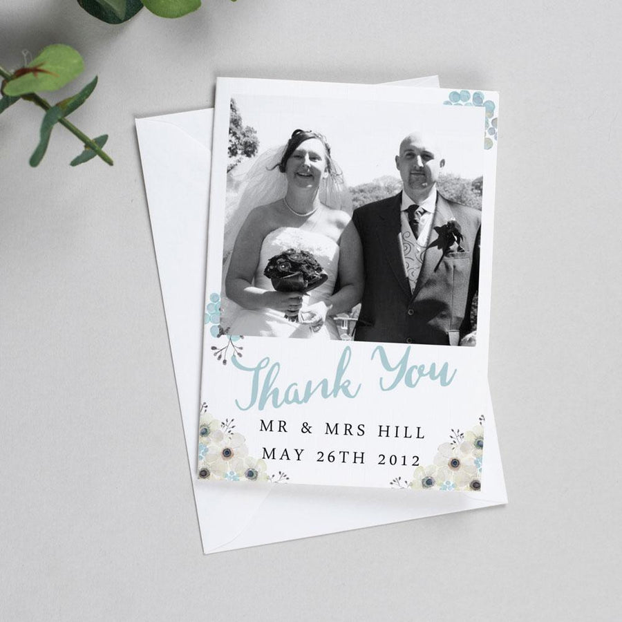 Photo Thank You Cards - Maria - Anemone Florals