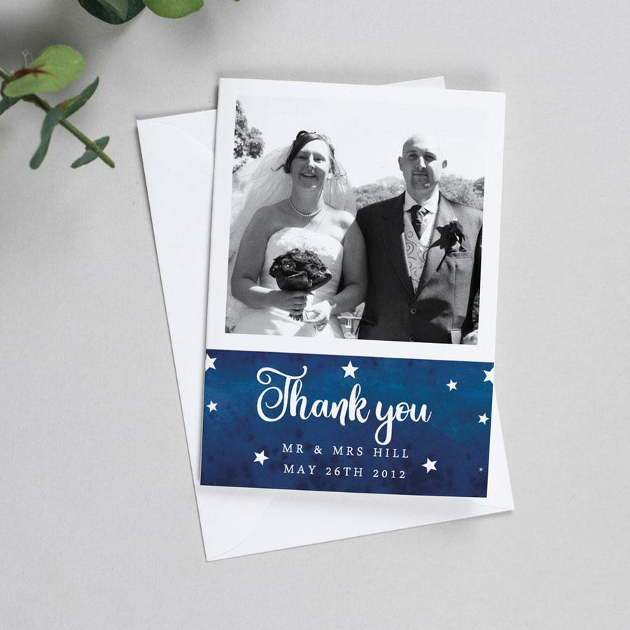 Photo Thank You Cards - Yvaine - Starry Night