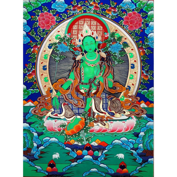 Using Green Tara Buddha Energy In Feng Shui