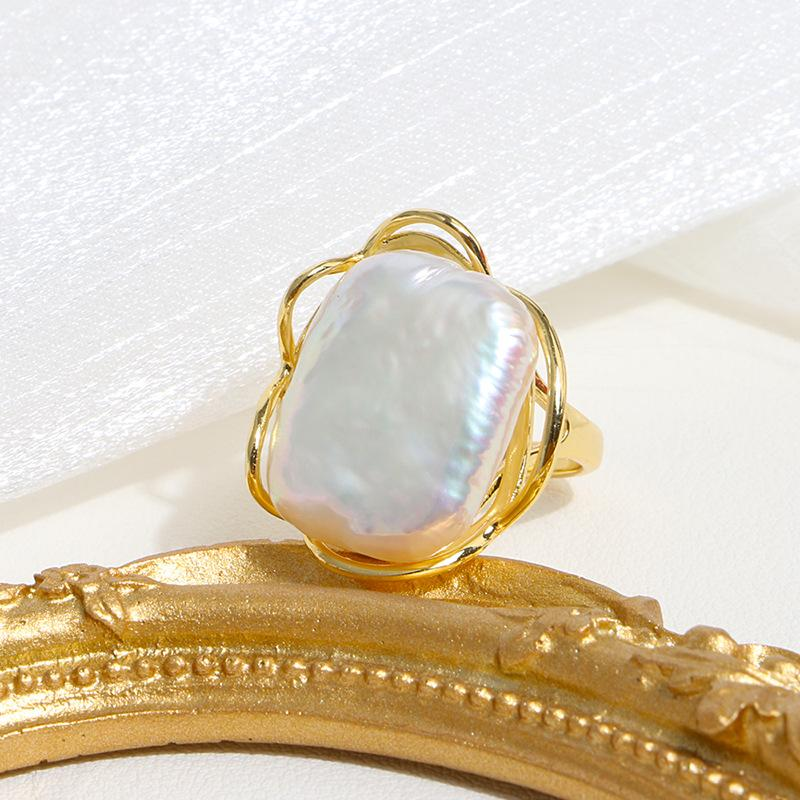 Auspicious Feng Shui Pearl Wealth Ring - FengshuiGallary