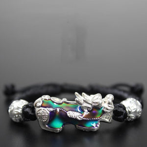 Color Changing Pixiu Lucky Rope Bracelet - FengshuiGallary