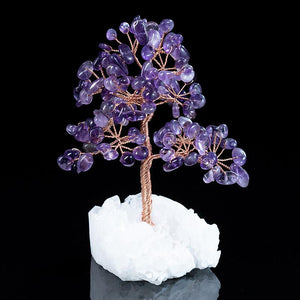 Feng Shui Crystal Wealth Energy Tree - FengshuiGallary