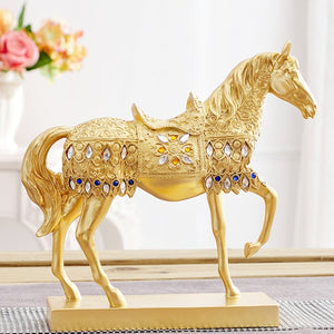 Feng Shui Wealth Horse Statue - FengshuiGallary