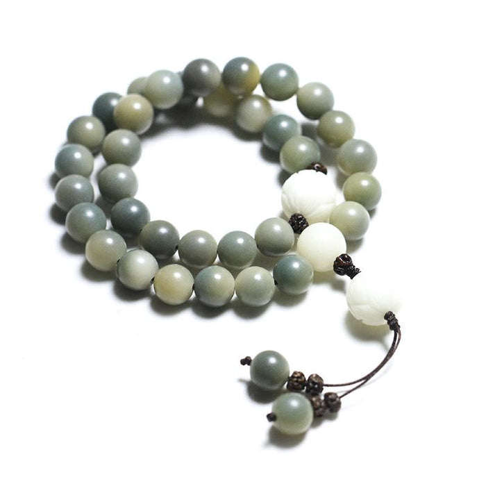 Lotus Bodhi Beads Healing Bracelet - FengshuiGallary