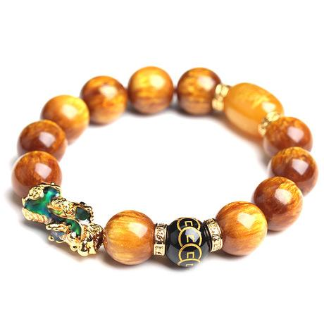 Mantra Pixiu Tiger's Eye Lucky Bracelet - FengshuiGallary