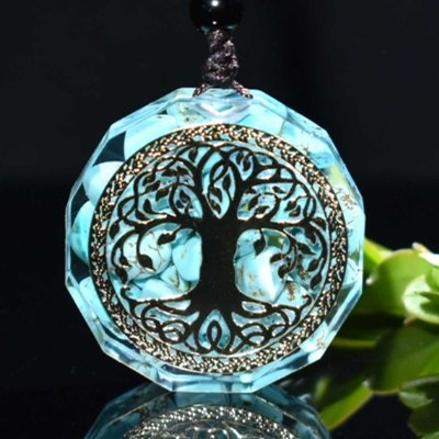 Tree Of Life Orgonite Chakra Energy Pendant Necklace - FengshuiGallary