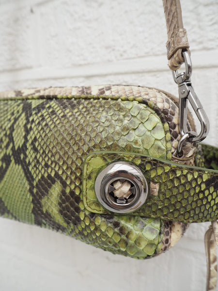 Prada Python Cross Body Bag