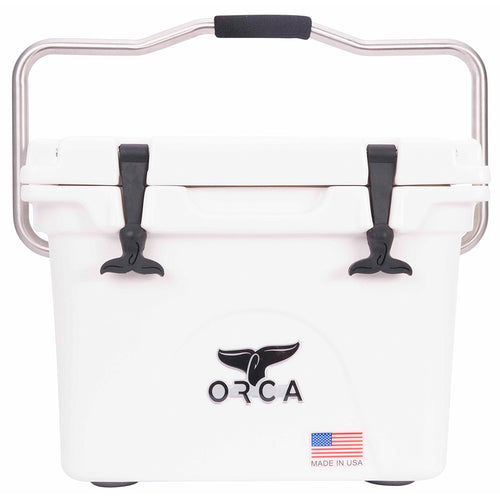 Orca Hard Sided Classic Cooler White 20 Quart