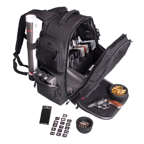 G-outdrs Gps Executive Backpack Blk
