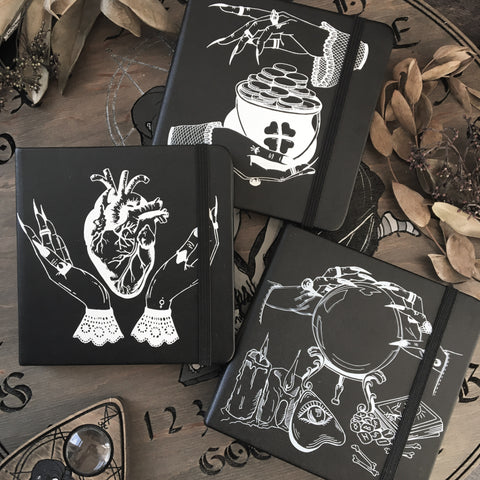 Witch sketchbooks