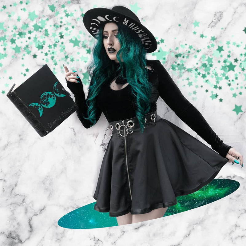 Book of Shadows - Emerald Lunar Mysteries