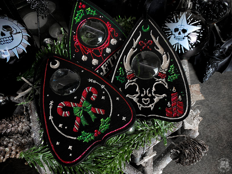 Yuletide Planchettes - Set of 3