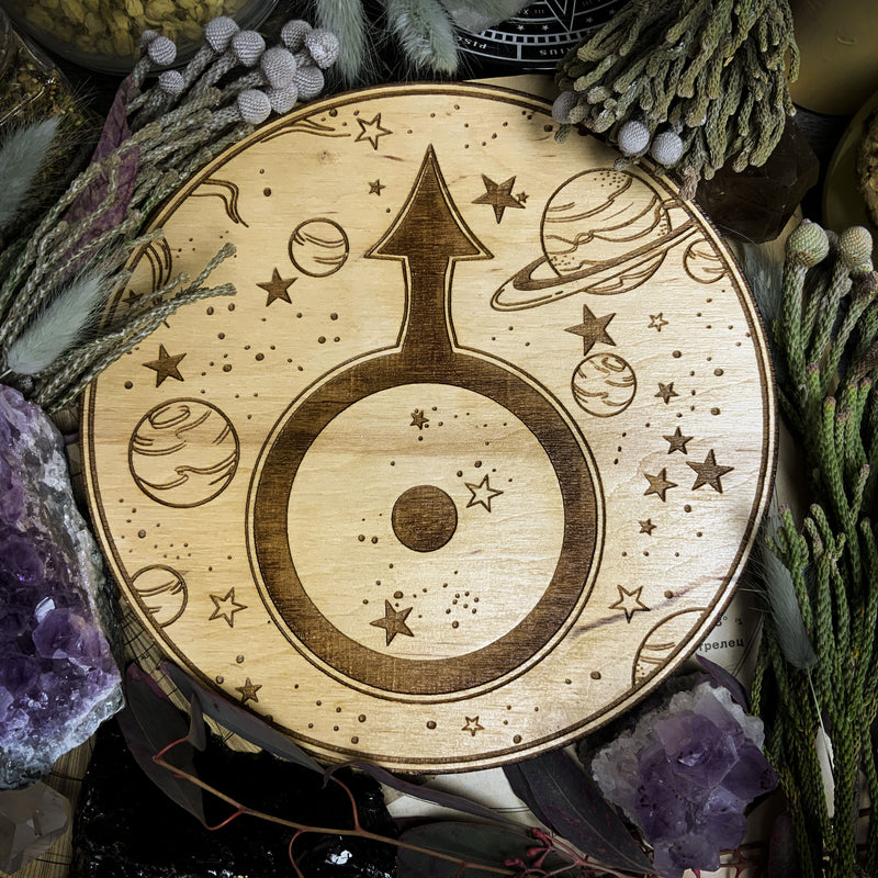Altar Pentacle - Uranus - Planetary Magic