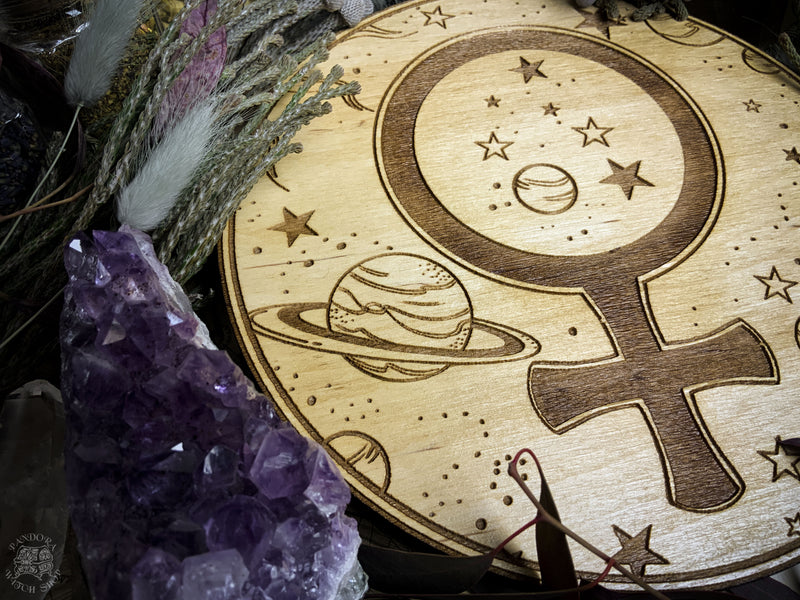 Altar Pentacle - Venus - Planetary Magic
