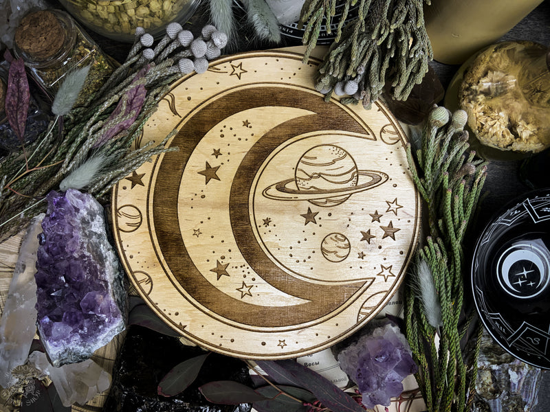 Altar Pentacle - Moon - Planetary Magic