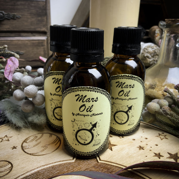 Mars Oil - Planetary Magic
