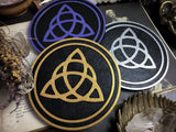Altar Pentacle - Triquetra - Color