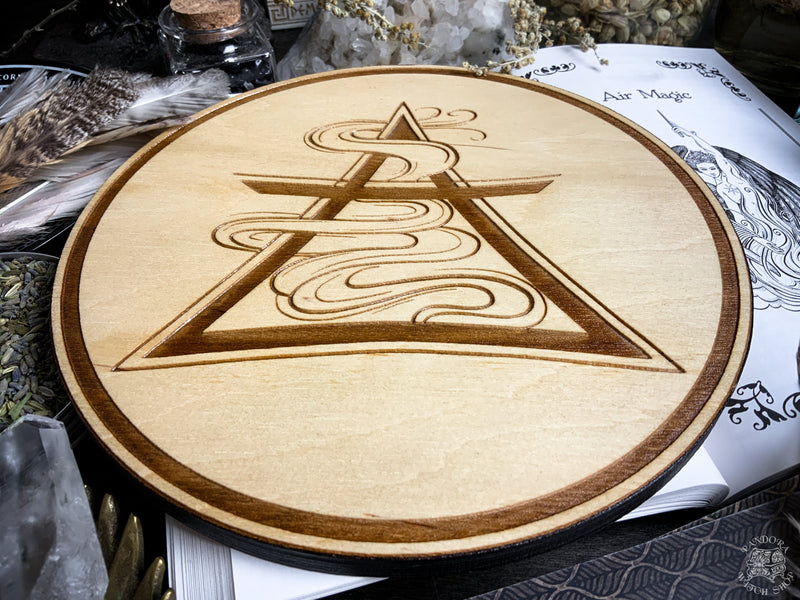 Altar Pentacles - Altar Pentacle - Air - Elemental Magic