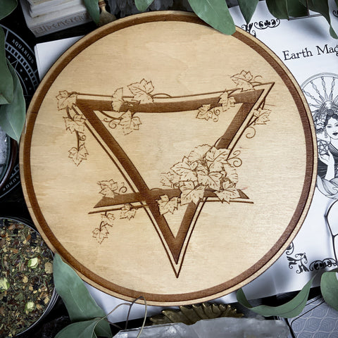 Altar Pentacles - Altar Pentacle - Earth - Elemental Magic