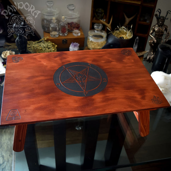 "Altar Table - Altar Table ""Red Baphomet"""