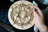 Baphomet - Altar Pentacle - Natural
