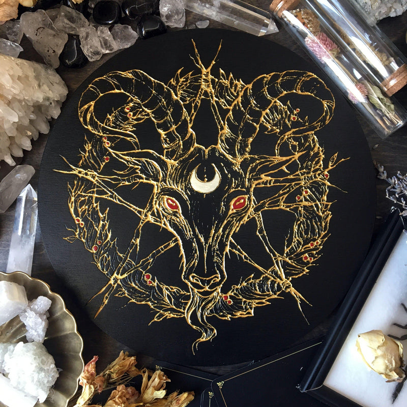 Black Phillip - Altar Pentacle
