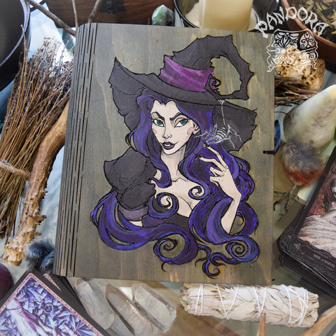 Book Of Shadows - Book Of Shadows - Purple Witch