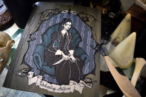 Book Of Shadows - Book Of Shadows - Wednesday Addams