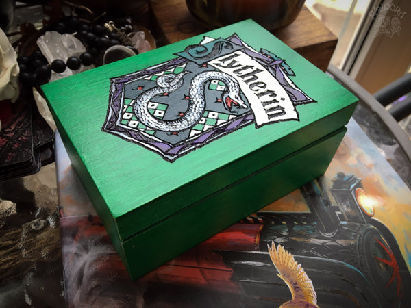 "Box - ""Harry Potter"" - Slytherin"