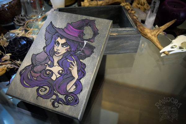 Box - Purple Witch