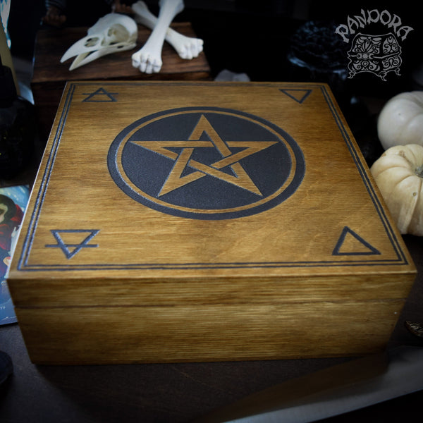 "Box With Sections - ""Witchcraft"""