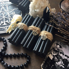 Candle - Black Beeswax Candles