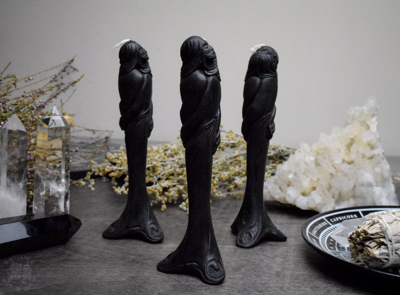 Black Lovers - Beeswax candle