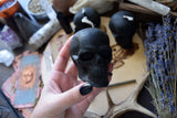 Candle - Black Skull - Beeswax Candle