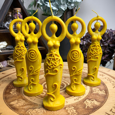 Candle - Goddess Of The Sun - Beeswax Candle