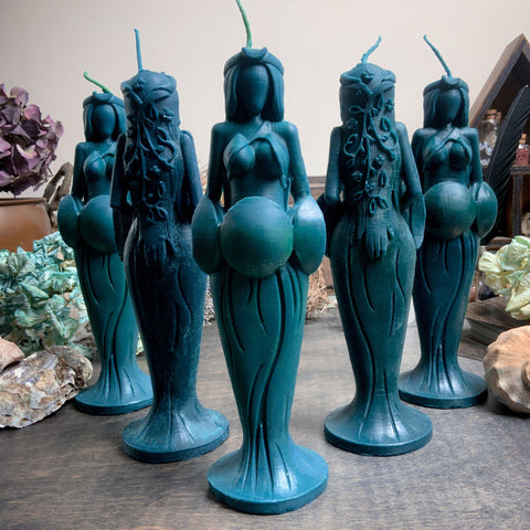 Candle - Great Goddess Of Seas - Beeswax Candle