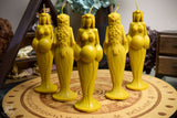 Candle - Great Goddess Of The Sun - Beeswax Candle