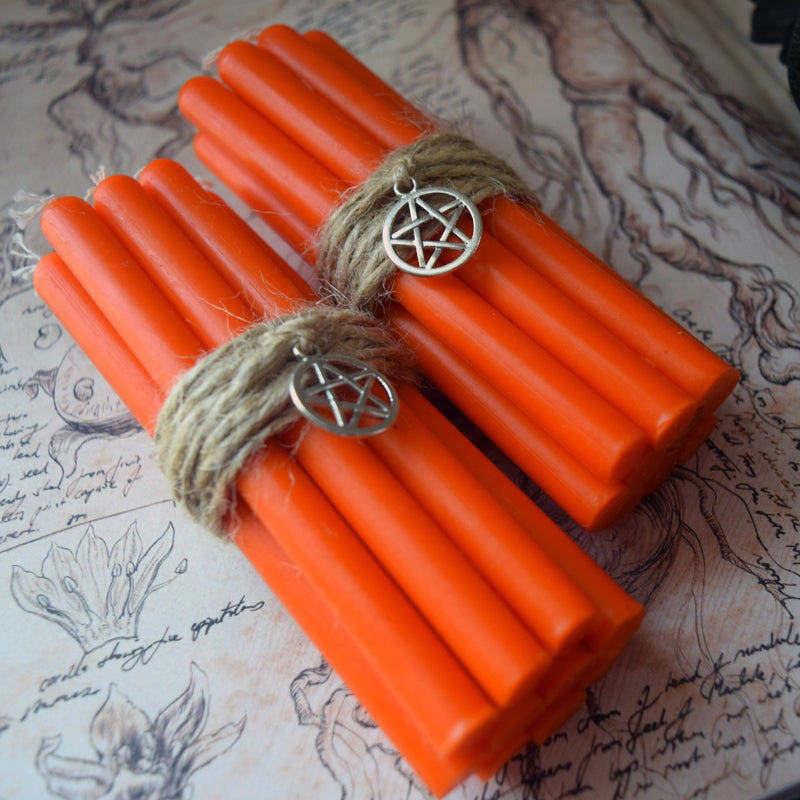 Candle - Orange Beeswax Candles