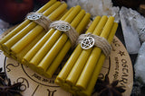Candle - Yellow Beeswax Candles